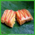 antojitos dominicano menu salado pasteles en hoja de carne